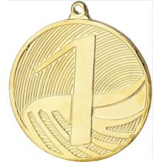 Медаль MD1290, диаметр 50мм с номером места
