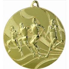 Медаль MMC2350, бег, диаметр 50мм