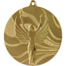 Медаль MD2350 Ника, диаметр 50мм