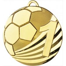 Медаль MD2450, футбол, диаметр 50мм