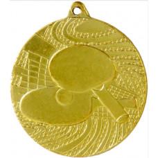 Медаль MMC2451, настольный теннис, диаметр 50мм