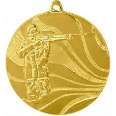 Медаль MMC3450 стрельба, диаметр 50мм