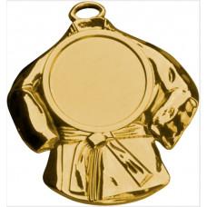 Медаль MD6050, карате, размер 58*50