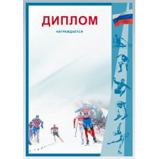 Диплом Д-13 лыжи