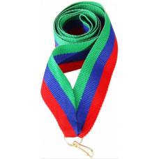 "Лента для медали ""Дагестан"" (GN/BL/RD)"